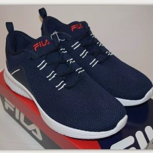 🏃Fila Men's VERSO Athletic Shoes Navy Blue
